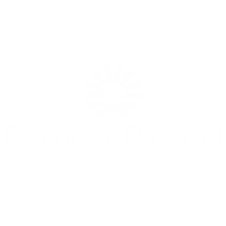 Pernod ricard logo black and white